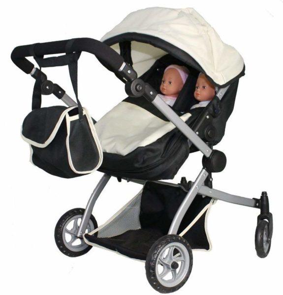 modelo carrinho de bebe duplo