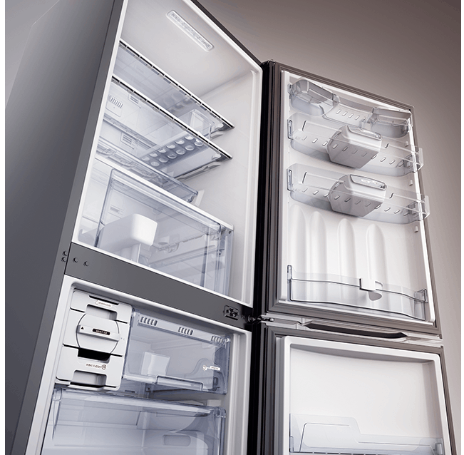 prateleira da geladeira ideal